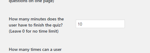 Adding a timer to your quiz or survey - Quiz And Survey Master