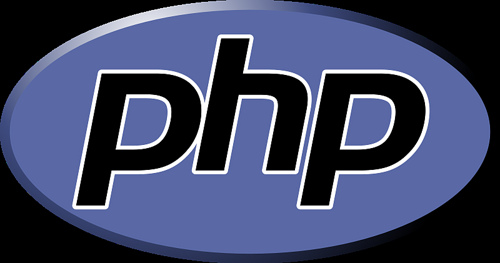 Logo for the programming language, PHP