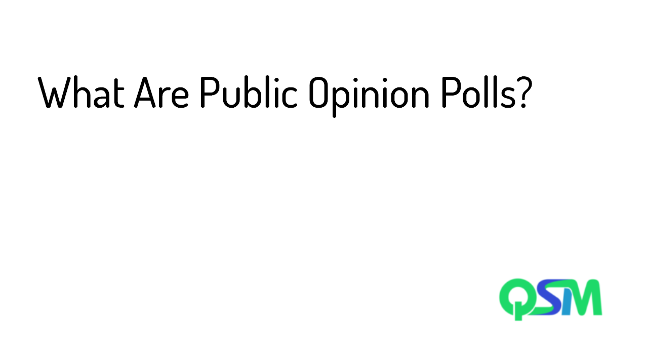 Public Opinion Polls- featured image